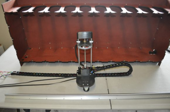assembly mount to linear rail