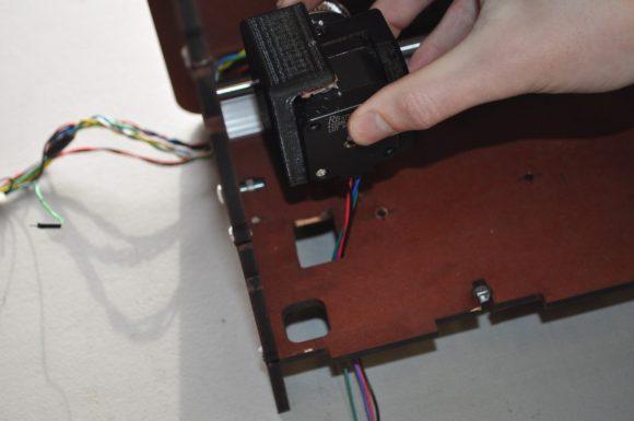 Attach Belt Stepper Frame