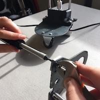 Assembling the Robotic Bartender Slider and Actuator