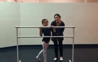 San Antonio Ballet Lessons Echappe