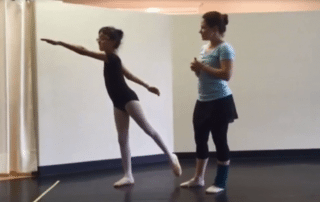 San Antonio Ballet Lessons Second Arabesque