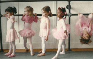 Life lessons learned through ballet