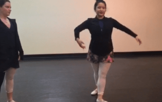 San Antonio Ballet Class - Fouetté