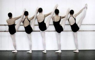 Adolescent Ballet Dancer