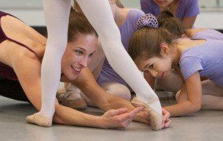 Starting Ballet Class