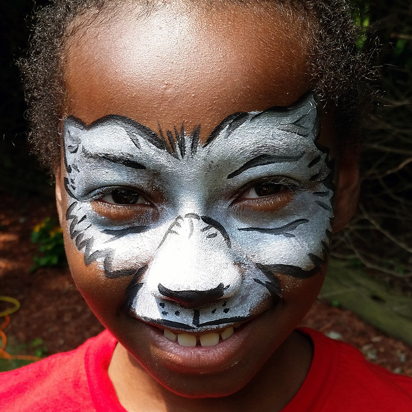 Wolf Face Painting