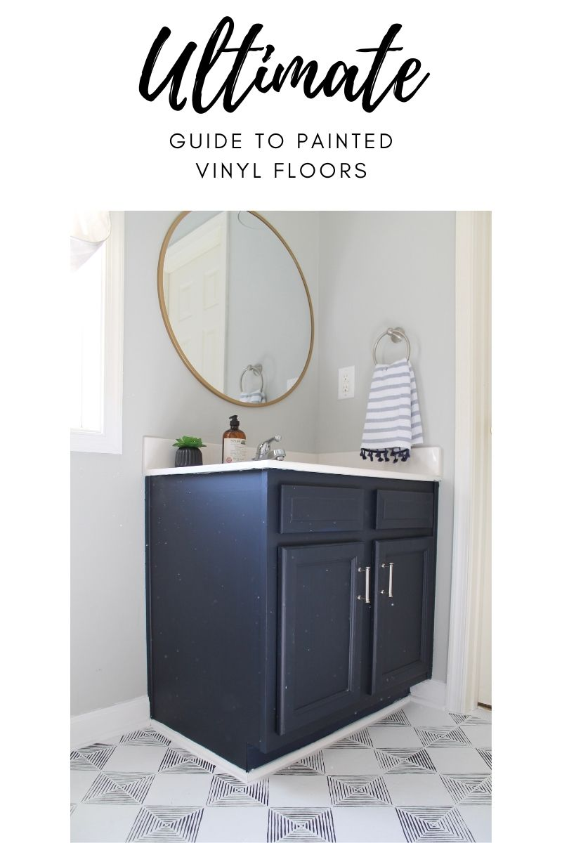 How to Paint Vinyl Floors: Step by Step Guide in 2021