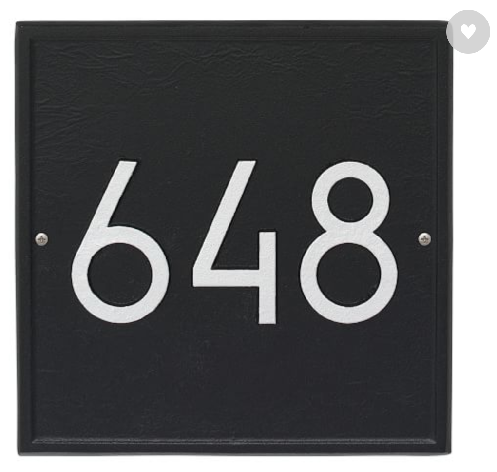 9 Most Popular Modern House Numbers for 2021