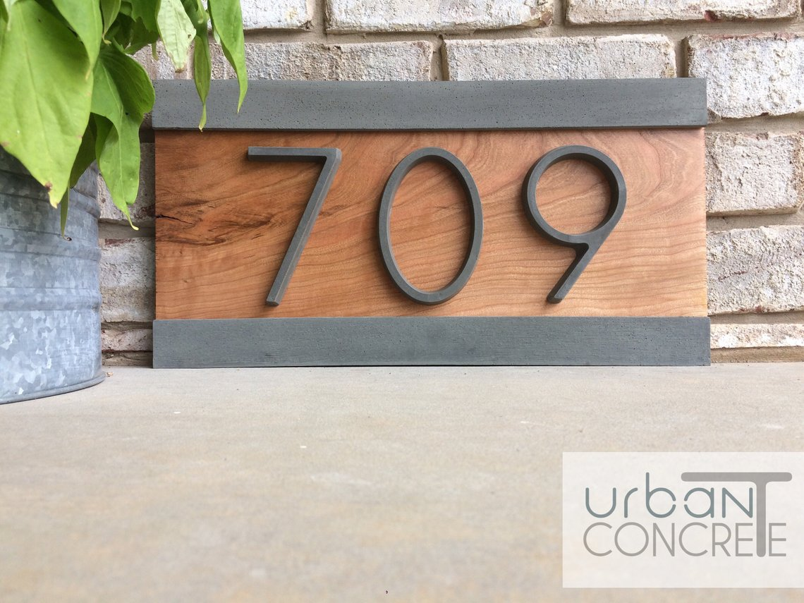 Best Modern House Numbers in 2020
