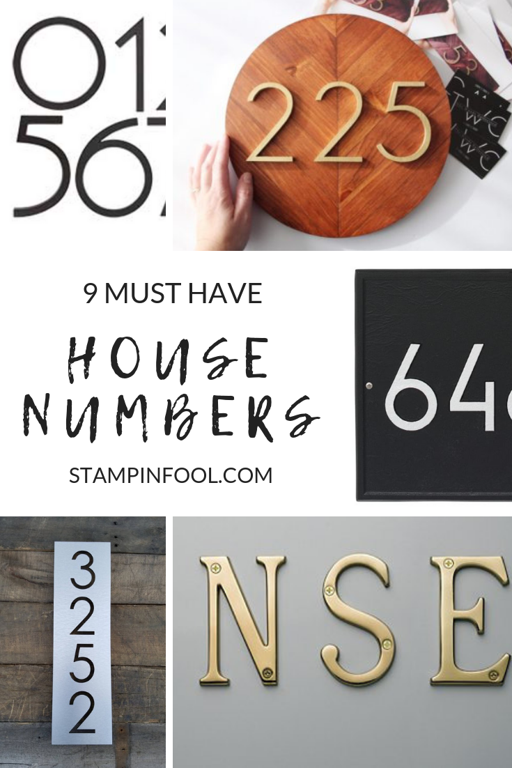 9 Must Have House Numbers in 2021