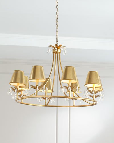 How to Pick the Perfect Size Chandelier-- your guide to choosing the perfect chandelier size from StampinFool.com