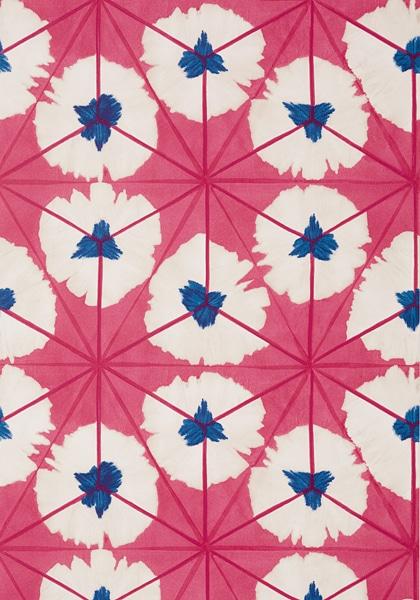 Thibaut pink Sunburst Wallpaper in Best of 2020 Roundup