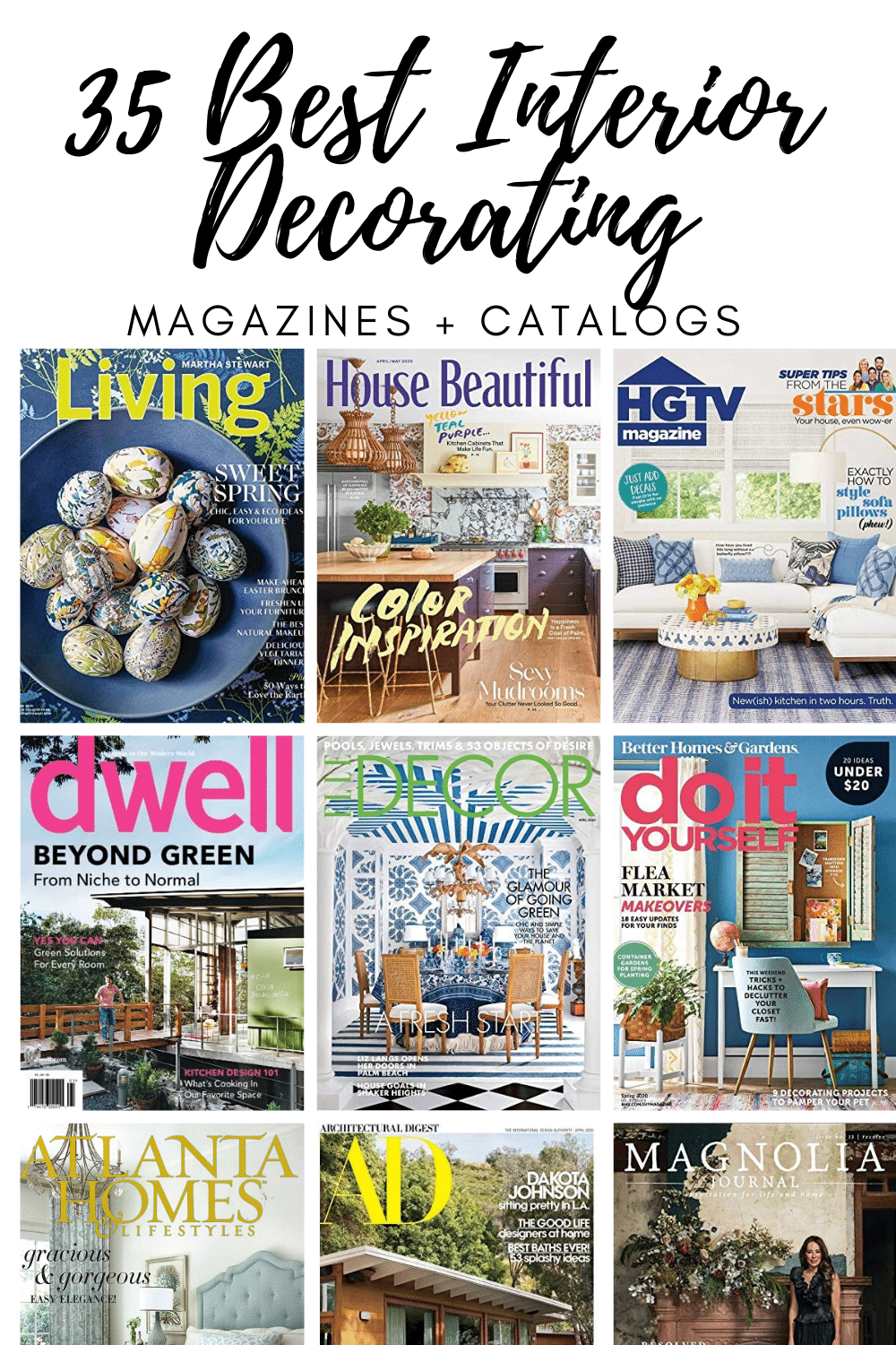 35 Top Interior Decorating Magazines