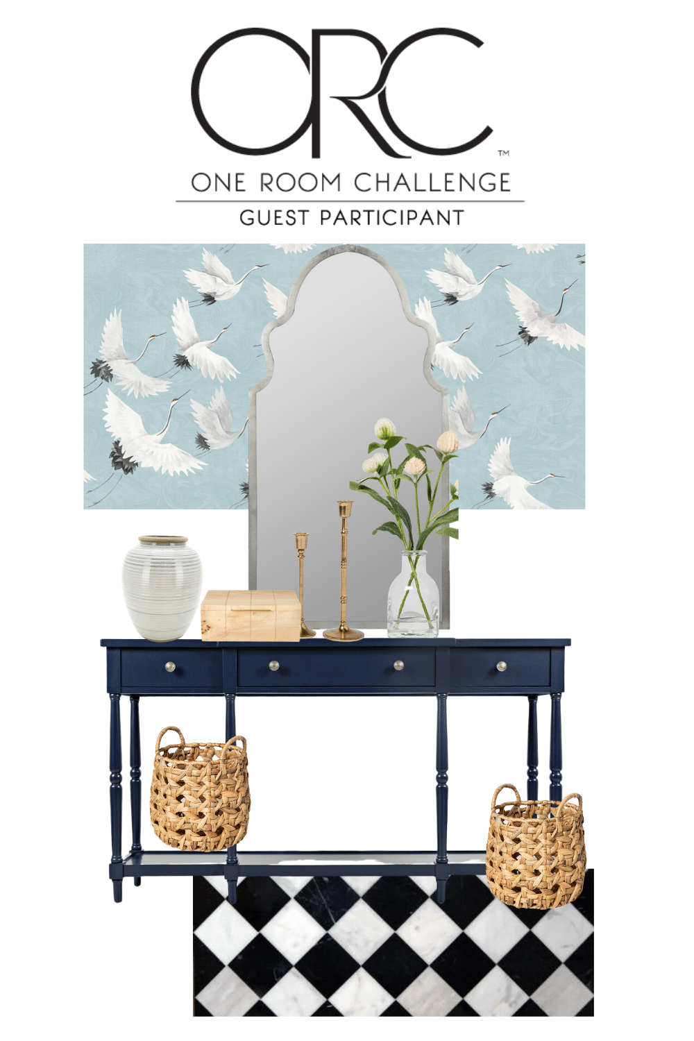 Spring 2020 One Room Challenge: Entryway Inspo