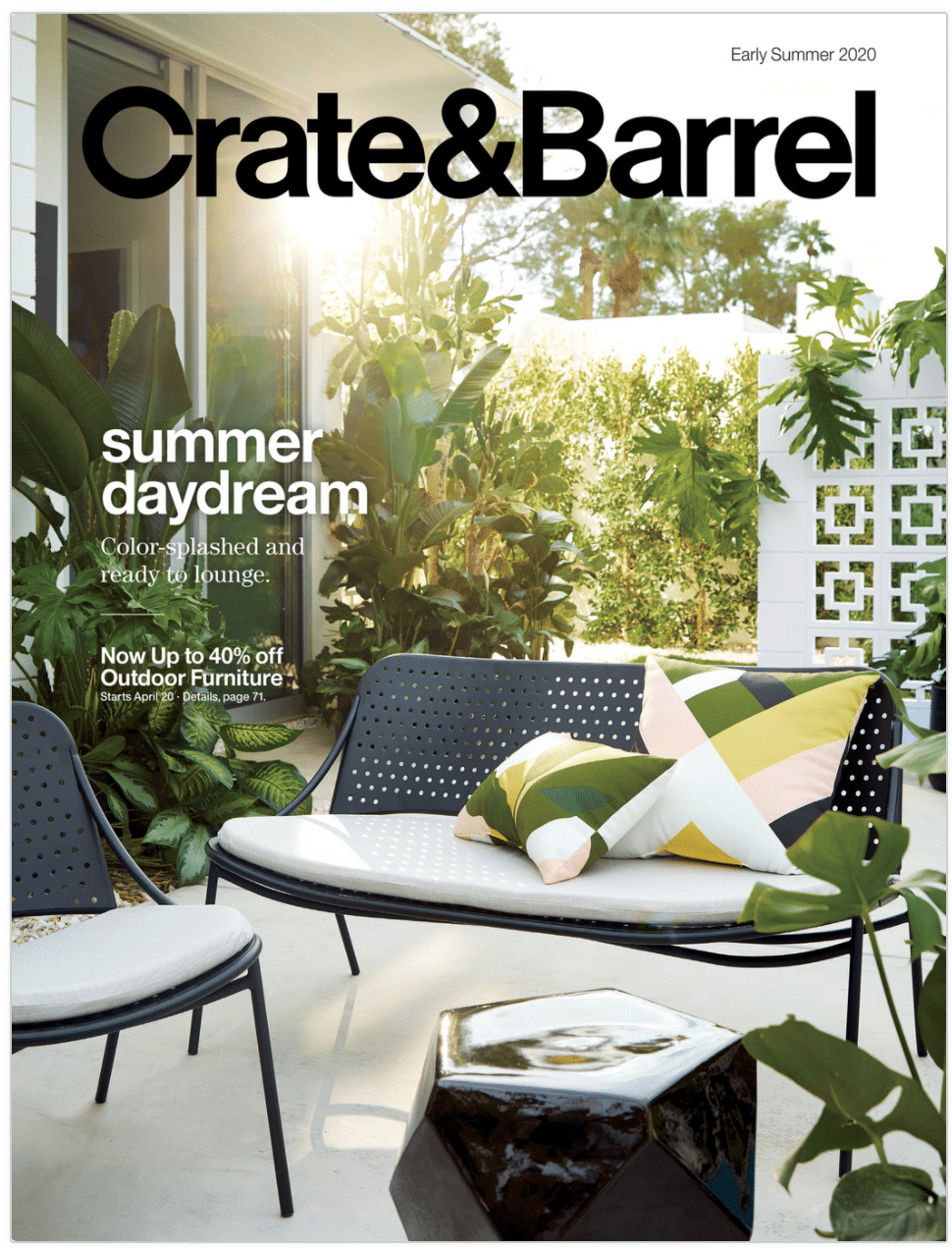 Crate & Barrel Catalog