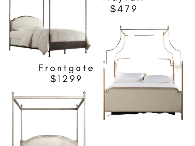 Splurge vs Steal: Canopy Beds
