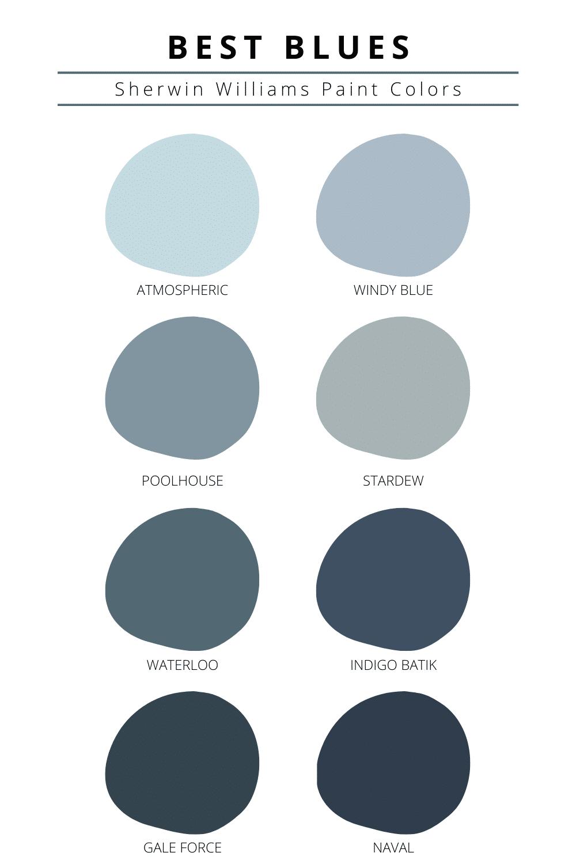 Sherwin Williams Best Blue Paint Colors