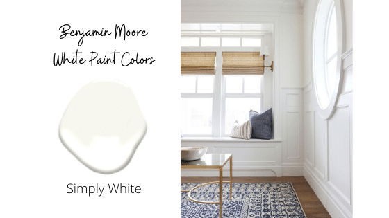Benjamin Moore Simply White: Top 8 White Paint Colors from Benjamin Moore in 2020