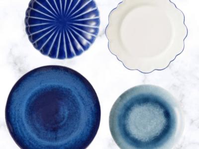 Blue Summer Entertaining Plates on Sale
