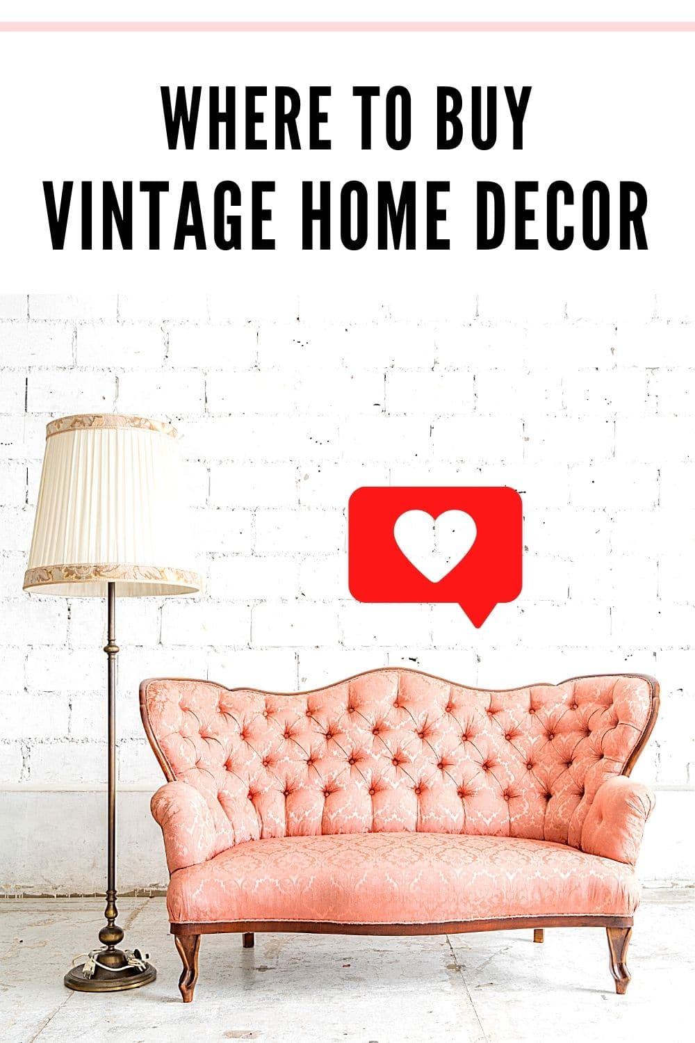 Where to Buy Vintage Home Decor and Vintage Furniture