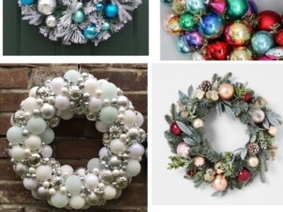 DIY Ornament Wreath RoundUp