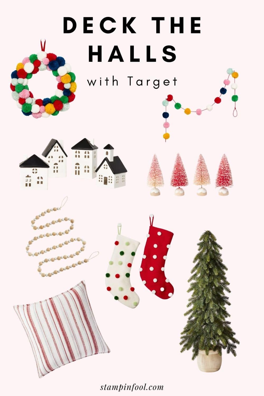 Last Minute Christmas Decor at Target