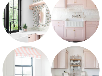 26 Pink Laundry Room Ideas That Make You Want To Do Laundry