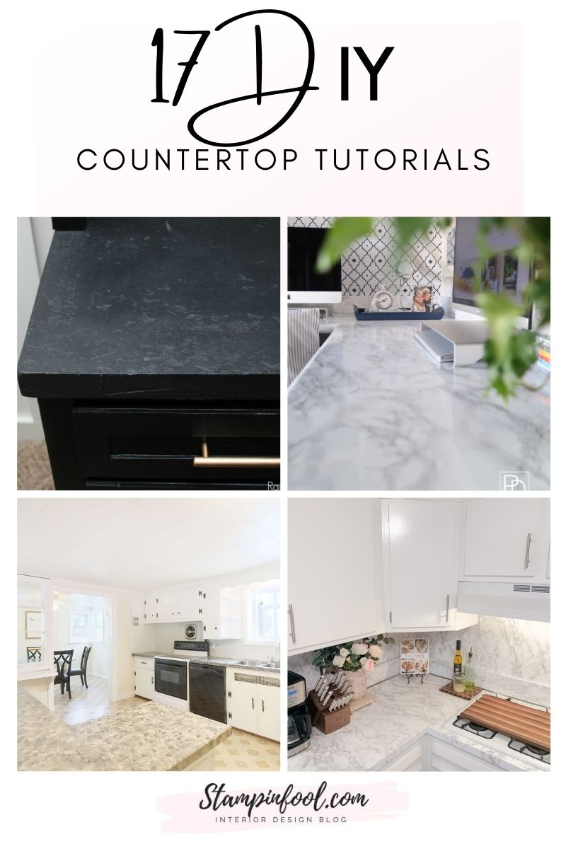 17 DIY Countertop Projects to Give Your Kitchen an Instant Upgrade