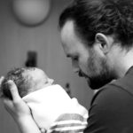 holding baby for the first time