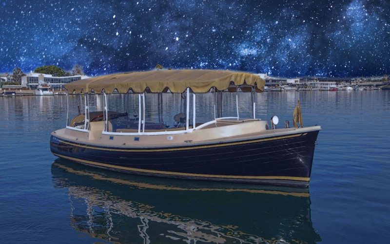 Evening Water Taxi Lake Tahoe