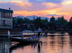 Gondola Rides in Lake Tahoe   Lake Tahoe boat rentals