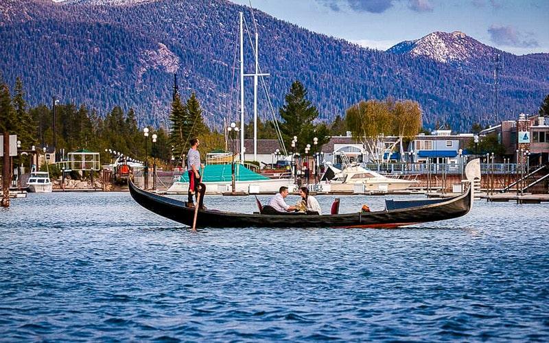 Gondola Lake Tahoe | Tahoe Amore Gondola Rides