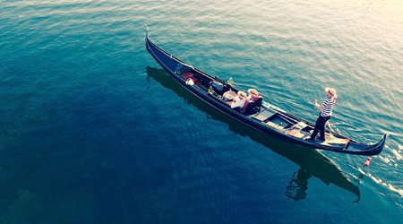 Drone Footage of Your Gondola Cruise