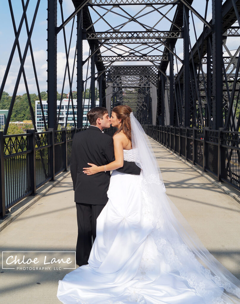 Hot Metal Bridge Pittsburgh PA Wedding Photos by Chloe Lane Photography