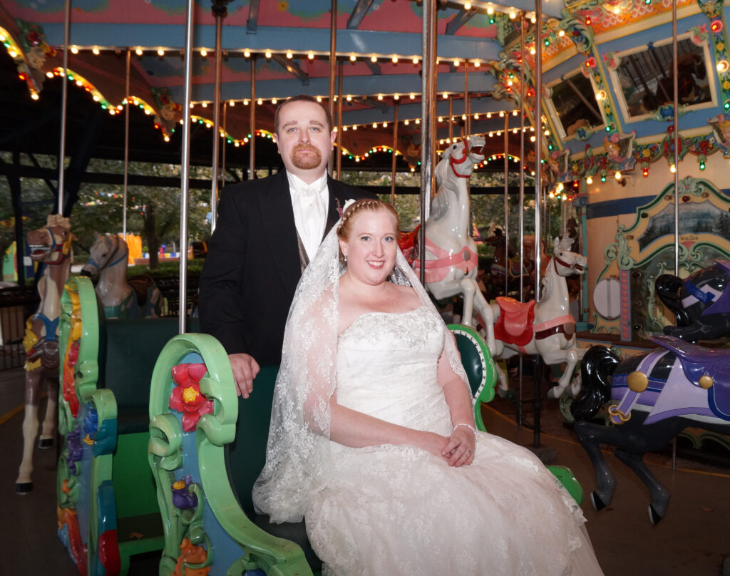 Kennywood Wedding Photos by Chloe Lane Photography