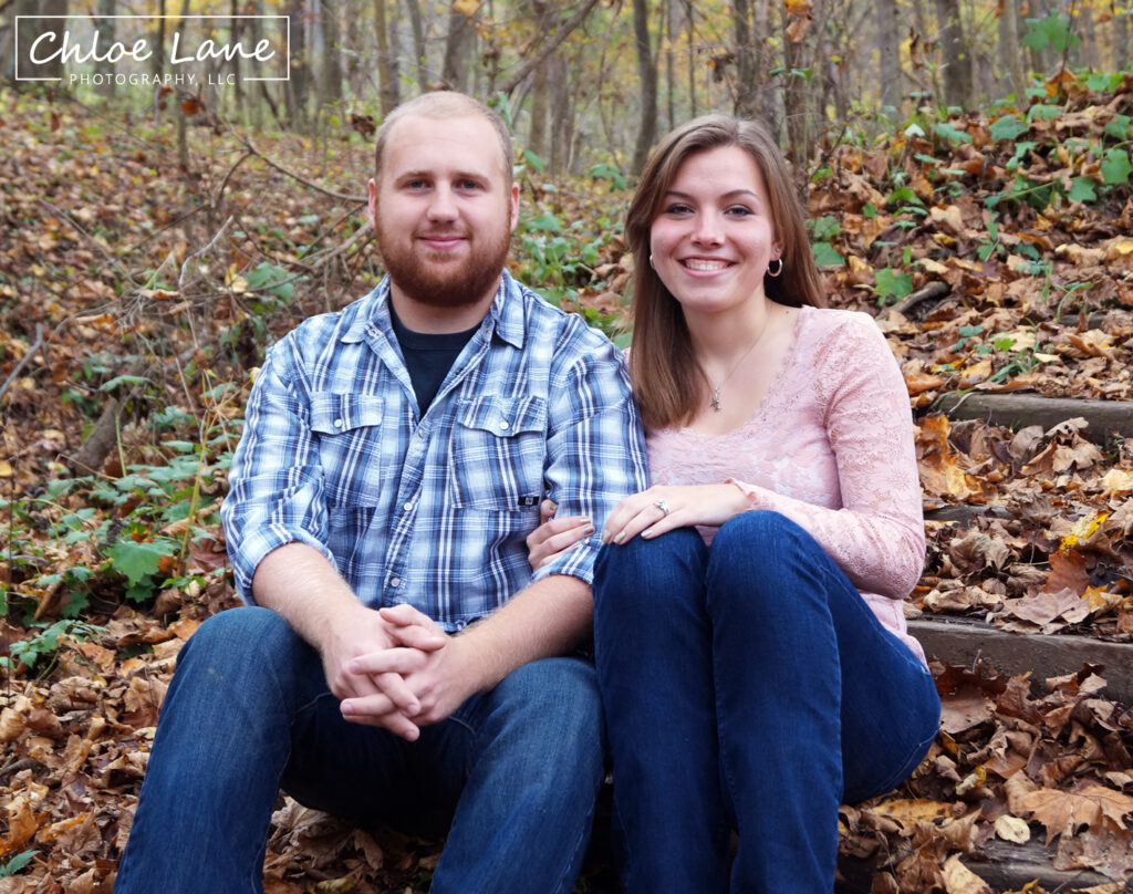 Mingo Creek Park Engagement Photos by Chloe Lane-Photography Greensburg and Latrobe
