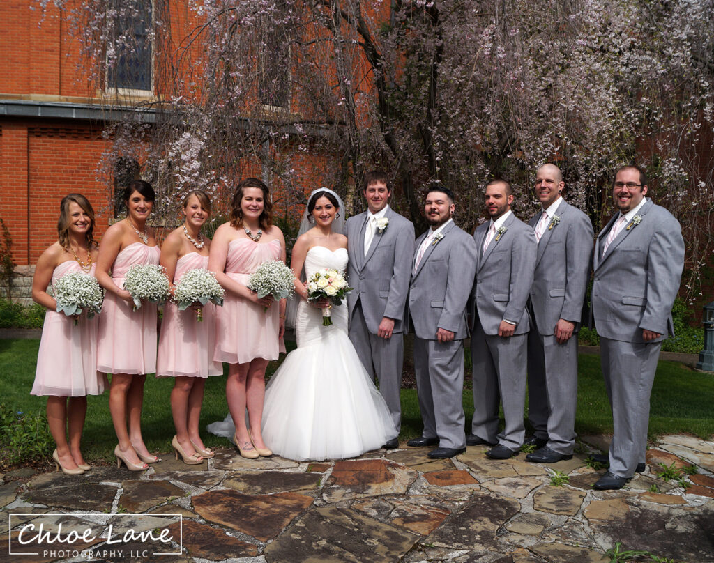 St Vincent College Wedding Photos by Chloe Lane Photography