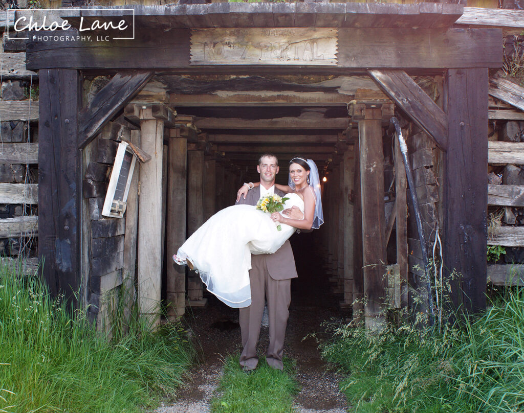 Wedding Photos near Ohiopyle PA by Chloe Lane Photography Greensburg and Latrobe
