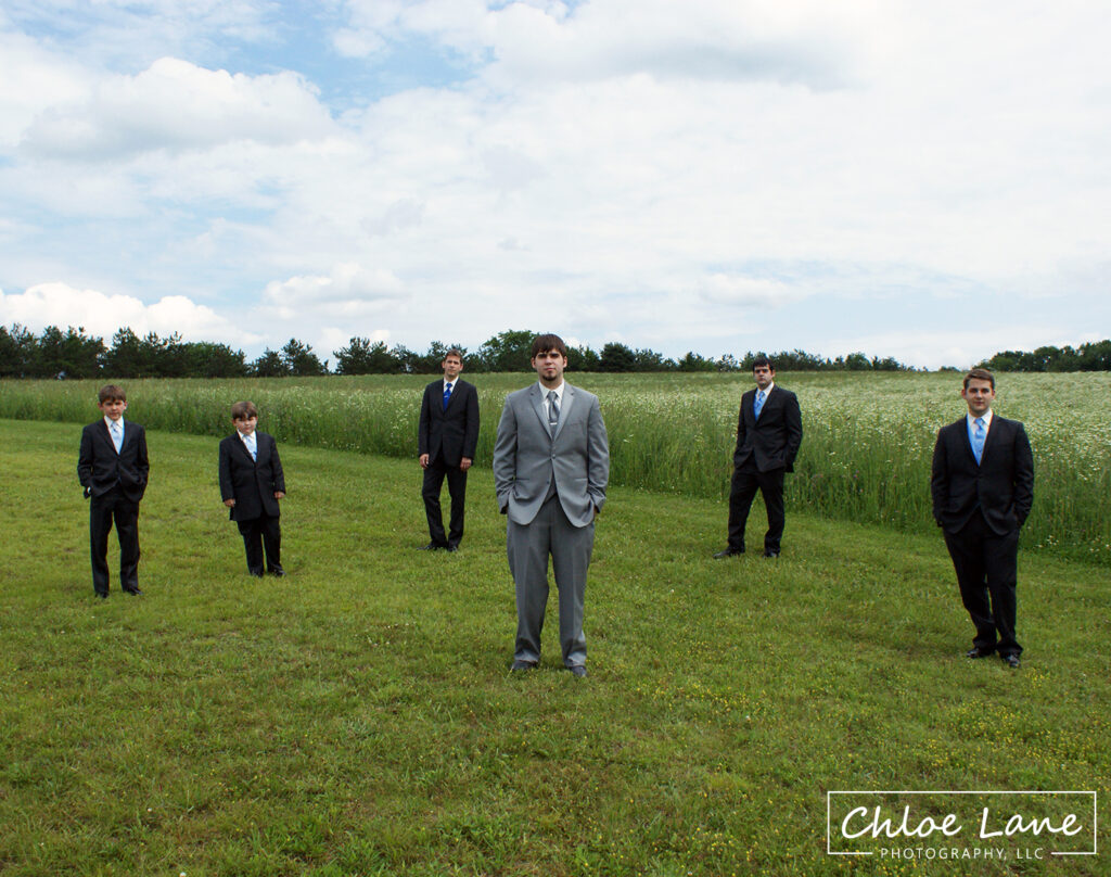 Groomsmen at White Barn Prospect PA by Chloe Lane Photography Greensburg and Latrobe