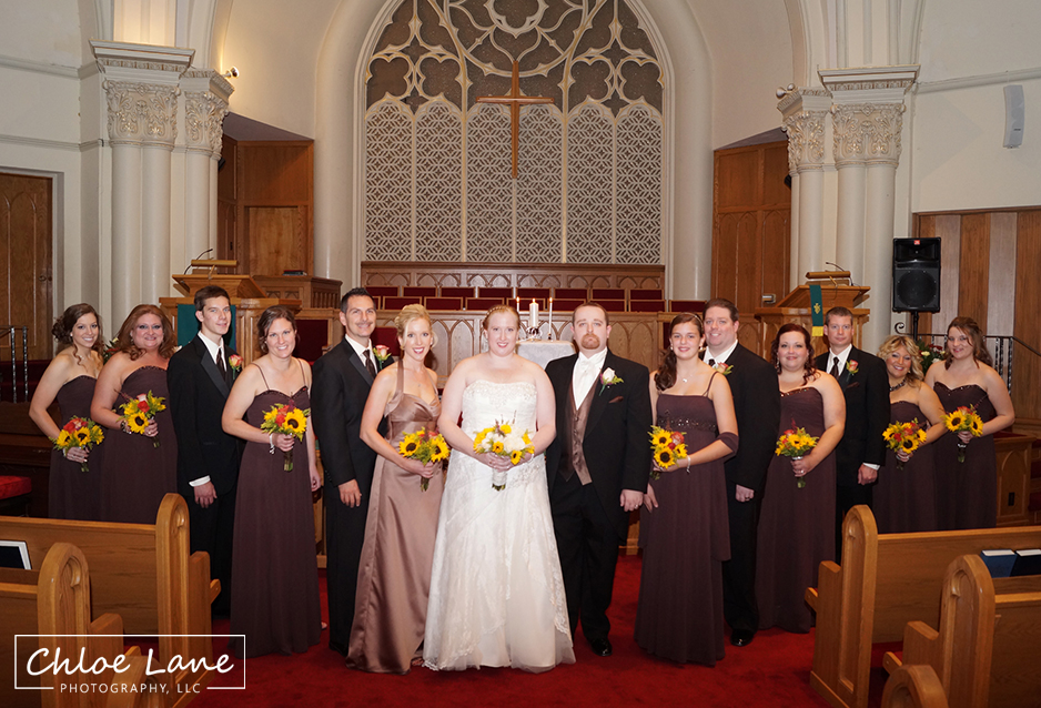 bridal party wedding photos near Latrobe Pennsylvania by Chloe Lane Photography Greensburg and Latrobe