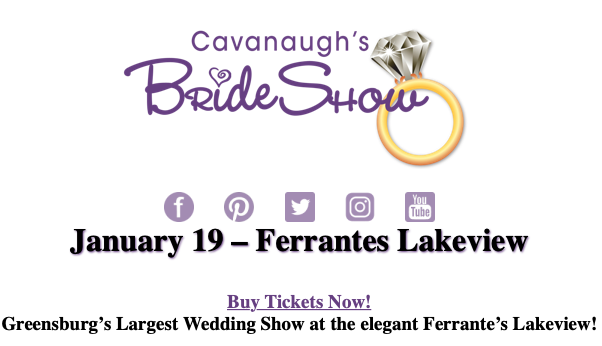 Cavanaugh's Bride Show Lakeview, Greensburg PA