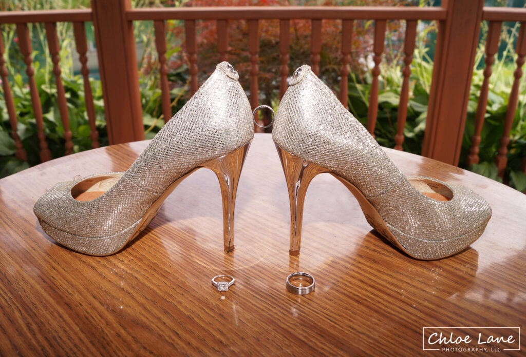 Brides-shoes-and-wedding-rings-at-Foggy-Mountain-Lodge