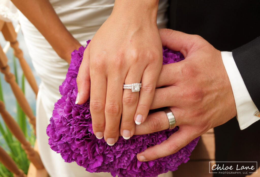 Wedding-rings-and-boquet-photo-at-Foggy-Mountain-Lodge
