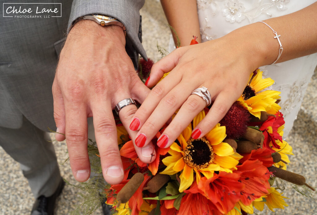 wedding-rings-fall-wedding-St-Marys-Church-Latrobe-Pennsylvania