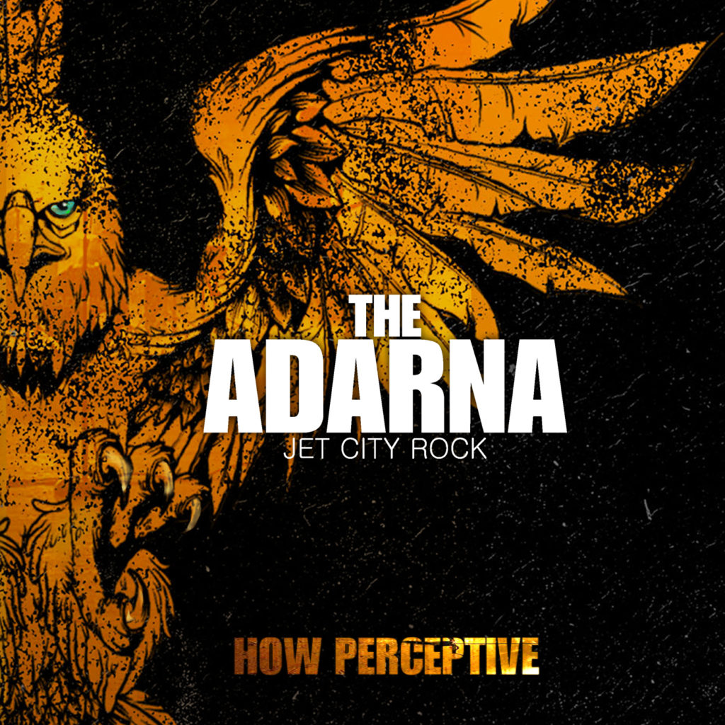 The Adarna How Perceptive 2015 Album Cover