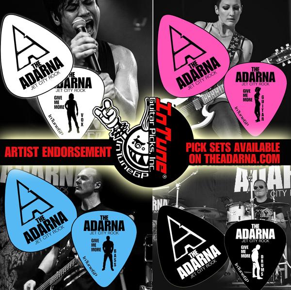 The Adarna Guitar Picks Merchandise