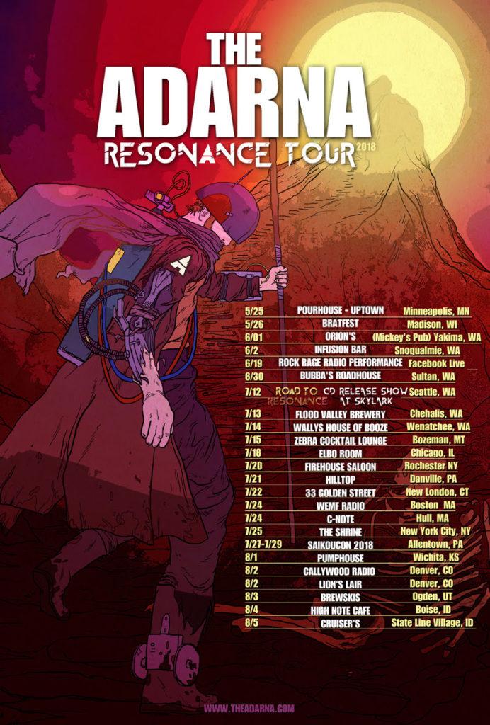 The Adarna - Resonance Tour (2018)