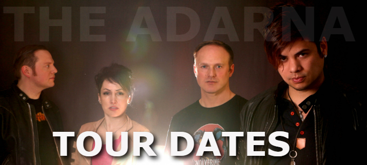Tour Dates for The Adarna Banner