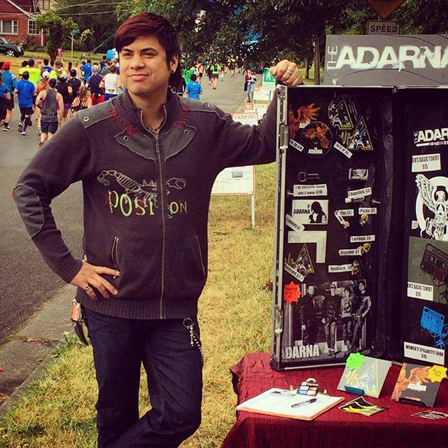 William from The Adarna - Seattle Marathon