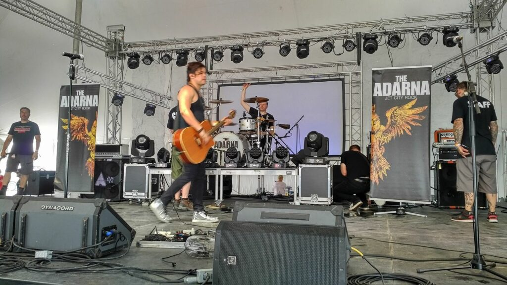 The Adarna Performing at Rocklahoma